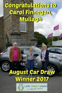 Car Draw Winner Moynalty