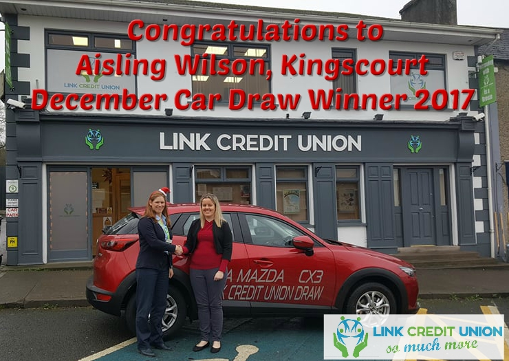 credit union car draw winner