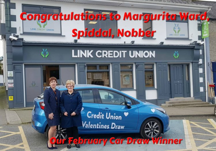 Feb Car Draw Winner 2018