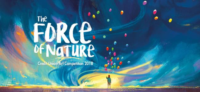 Image of: Paint Art Competition 2018 Wandkraft Art Competition 2018 The Force Of Nature Link Credit Union