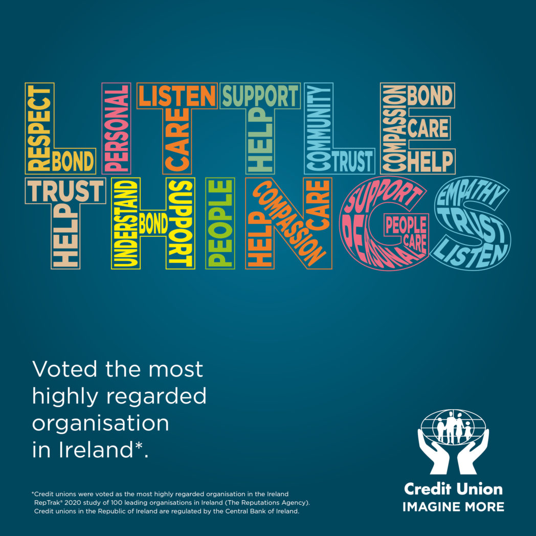 Credit Unions are Ireland's most trusted organisation